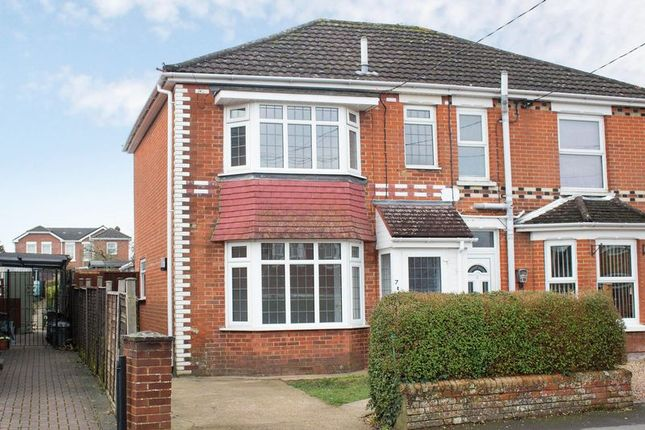 Thumbnail Semi-detached house for sale in Haselbury Road, Totton, Southampton
