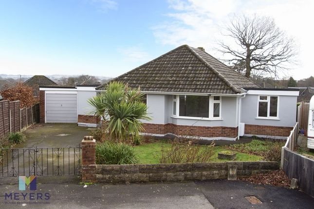 Thumbnail Detached bungalow for sale in Mead Close, Broadstone