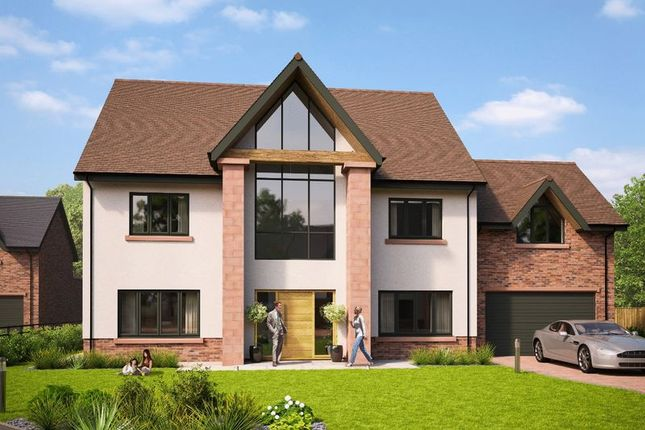 Thumbnail 5 bedroom detached house for sale in Plot 2 - Oldfield Chase, Oldfield Drive, Heswall