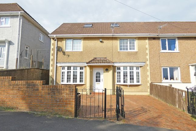Thumbnail Semi-detached house for sale in Manor Road, Pontllanfraith, Blackwood