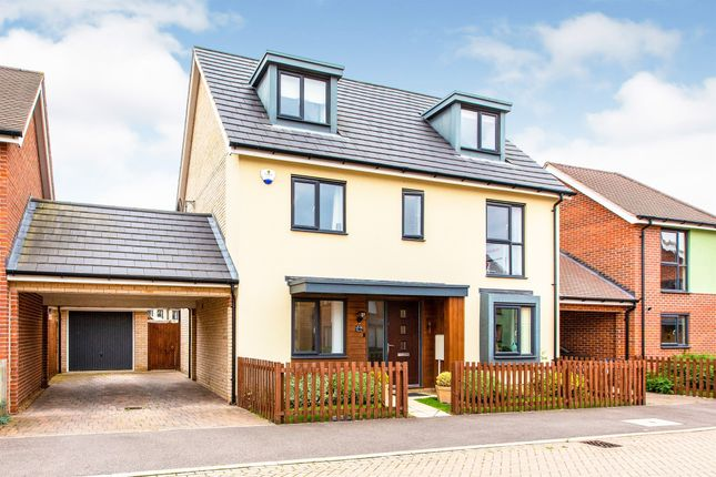 Thumbnail Detached house for sale in Vickers Way, Upper Cambourne, Cambridge
