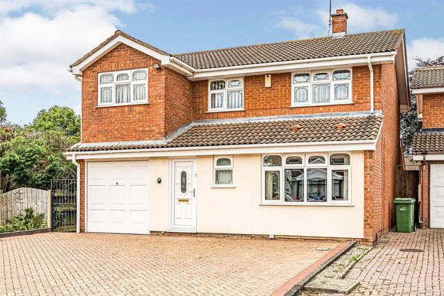 Thumbnail Detached house for sale in Broomehill Close, Brierley Hill