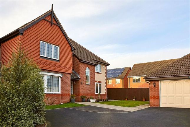Thumbnail Detached house for sale in Edgeley Close, Heathley Park, Leicester