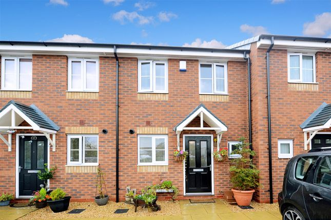Thumbnail Terraced house for sale in Asquith Close, Shrewsbury