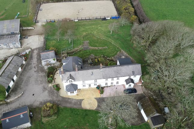 Thumbnail Farmhouse for sale in Trethellan, Lanner, Redruth