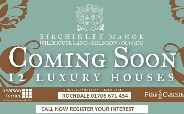 Thumbnail Country house for sale in Birchinley Manor, Milnrow Rochdale