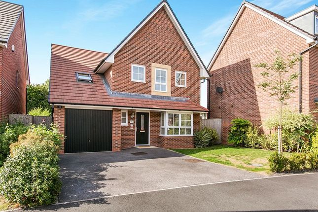 Thumbnail Detached house for sale in Silverlea Road, Lostock Gralam, Northwich