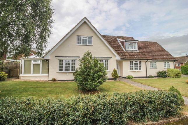 Thumbnail Detached house for sale in Chilbolton, Stockbridge, Hampshire