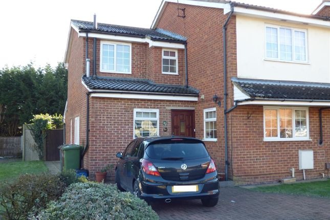 Thumbnail End terrace house for sale in Meryfield Close, Borehamwood