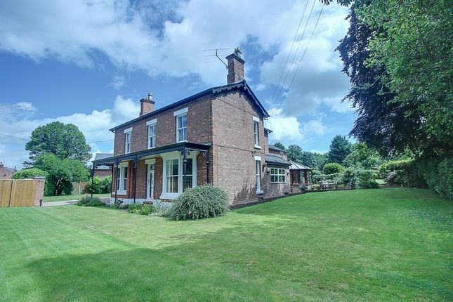Thumbnail Detached house for sale in Whitchurch Road, Bunbury Heath, Tarporley