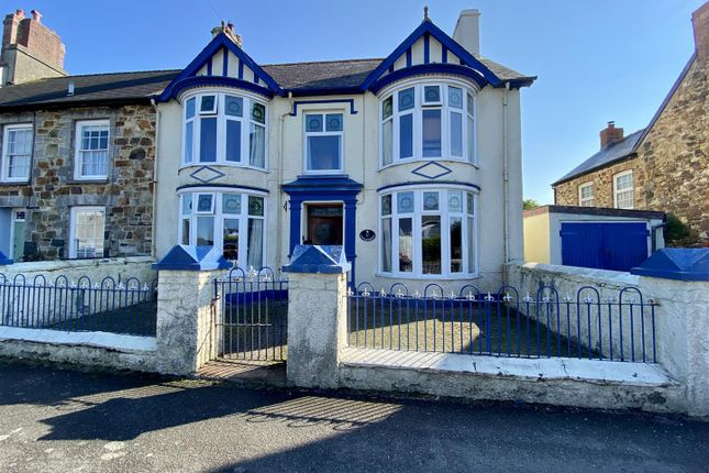 Thumbnail End terrace house for sale in 2 Castle Green, Dinas Cross, Newport