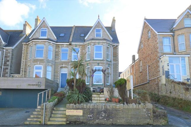 Thumbnail Semi-detached house for sale in Mount Wise, Newquay, Cornwall