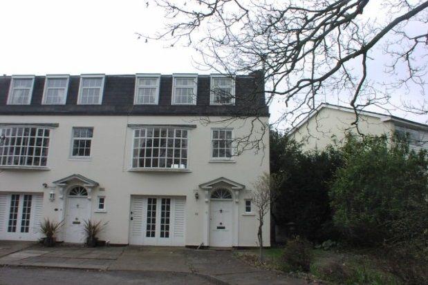 Thumbnail Town house to rent in Lillington Avenue, Leamington Spa