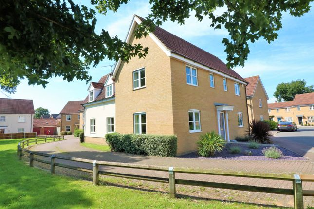 Thumbnail Detached house for sale in Russet Way, Dereham
