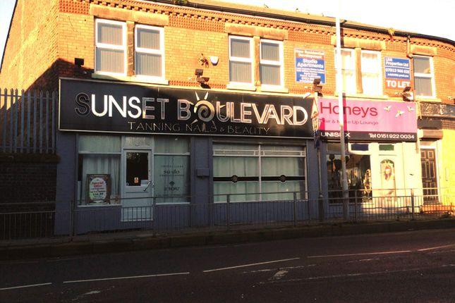 Thumbnail Retail premises for sale in Liverpool L20, UK