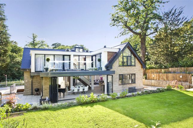 Thumbnail Detached house for sale in Meadow Road, Virginia Water, Surrey