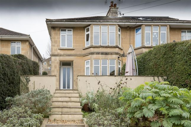 Thumbnail Semi-detached house for sale in London Road East, Batheaston, Bath