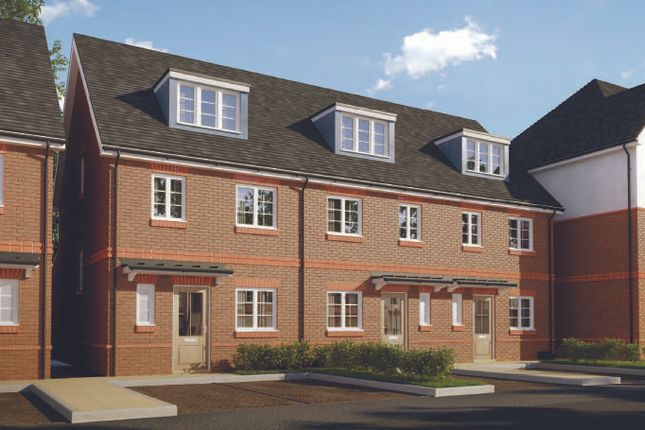 Thumbnail Terraced house for sale in Parklands, Woodlands Avenue, Earley, Berkshire