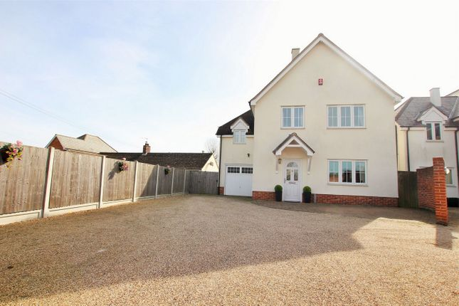 Thumbnail Detached house for sale in Spring Lane, Eight Ash Green, Colchester, Essex