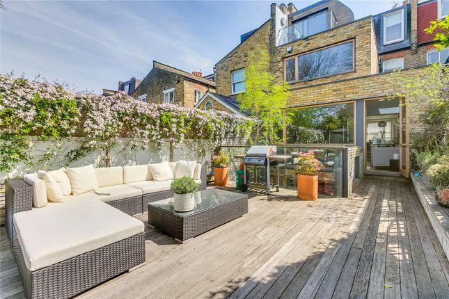 Garden of Atalanta Street, Fulham, London SW6