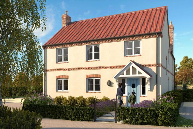 Thumbnail Detached house for sale in Brindley Grove, Sutton-Cum-Lound, Retford