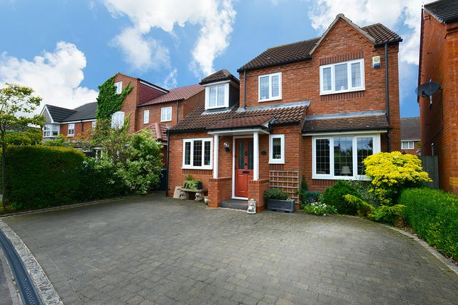 Thumbnail Detached house for sale in Cedar Croft, Aston-On-Trent, Derby