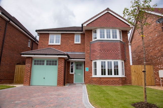 Thumbnail Detached house for sale in The Dolwen, Plot 13, Off Old Hall Road, Hawarden, Flintshire
