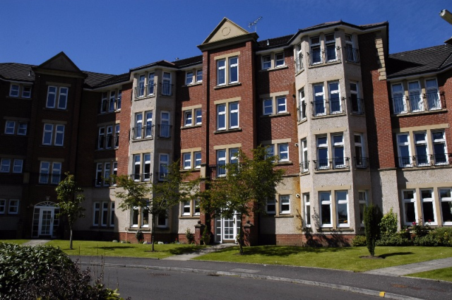 Thumbnail Flat to rent in Mill Brae Court, Ayr, South Ayrshire, 3Gt