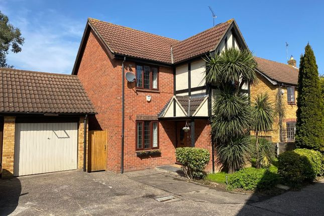 Thumbnail Detached house for sale in Tindall Close, Harold Wood, Romford