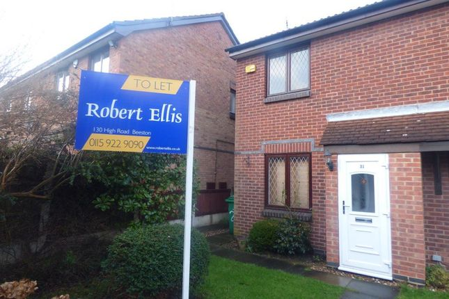 Thumbnail Semi-detached house to rent in Courtney Close, Wollaton, Nottingham