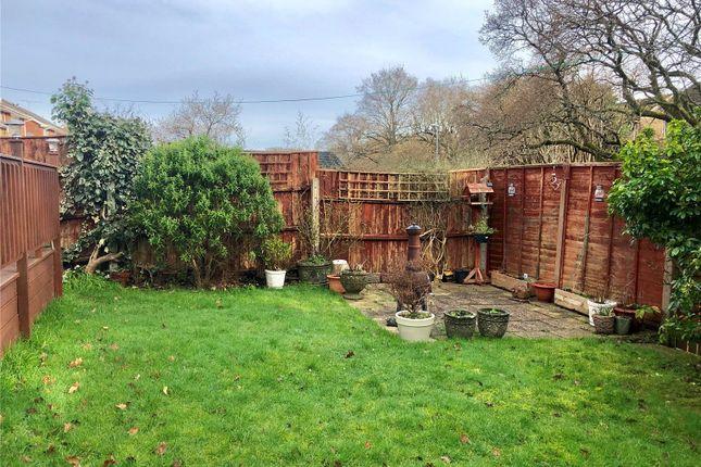 Rear Garden of Phelipps Road, Corfe Mullen, Wimborne, Dorset BH21