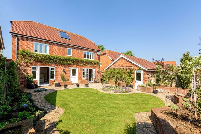 Thumbnail Detached house for sale in Morrish Grove, Kintbury, Hungerford, Berkshire