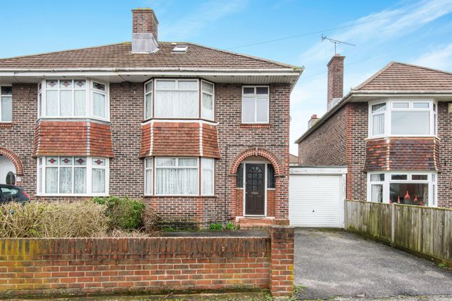 Thumbnail Semi-detached house for sale in King Georges Avenue, Southampton