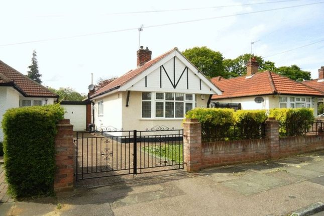 Thumbnail Bungalow to rent in Hazelwood Drive, Pinner