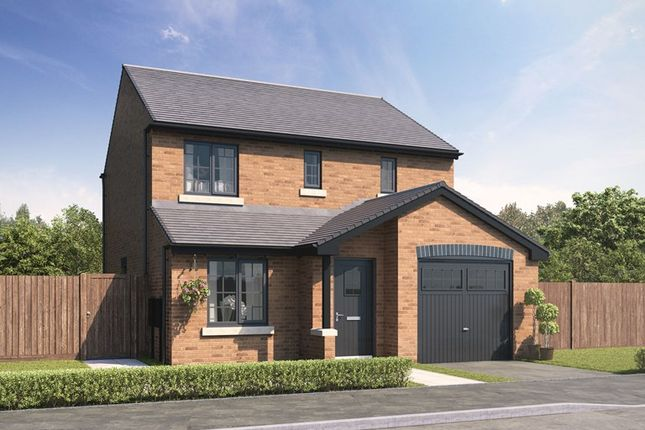 Thumbnail Semi-detached house for sale in Essendene Rise, Freeman Way, Ashington, Northumberland