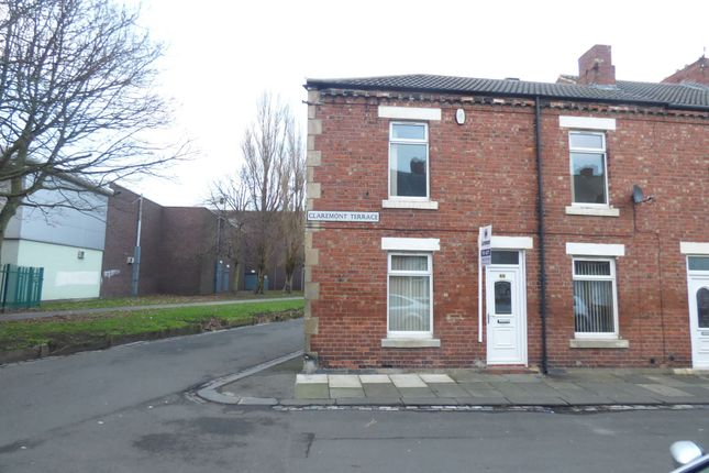 Thumbnail Terraced house to rent in Claremont Terrace, Blyth
