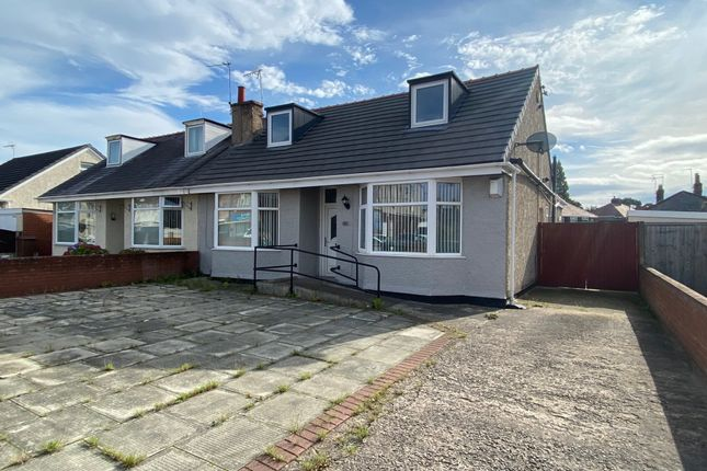 Thumbnail Semi-detached bungalow for sale in Hoylake Road, Moreton, Wirral