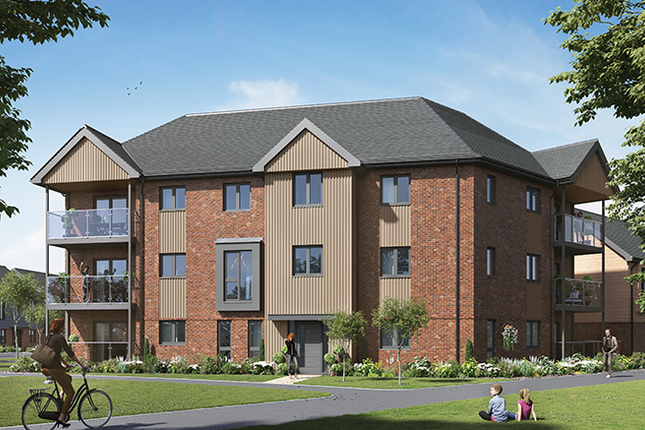 Thumbnail Flat for sale in Plot 258 - The Crewe, Crowthorne