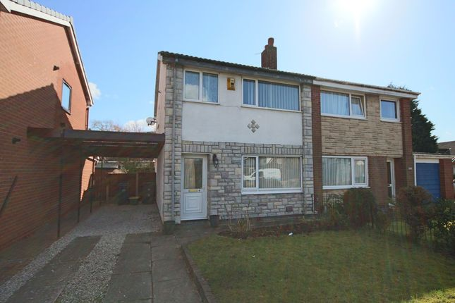 Thumbnail Semi-detached house to rent in Northleach Avenue, Penwortham, Preston