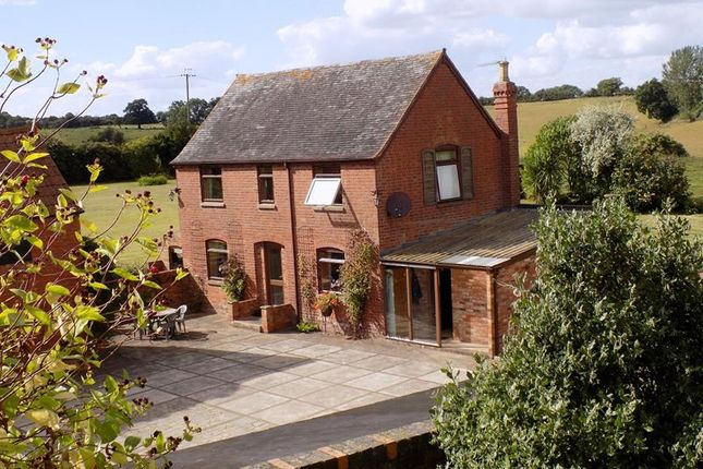 Thumbnail Detached house for sale in Paunt House Farm, Castle Trump, Newent, Gloucestershire