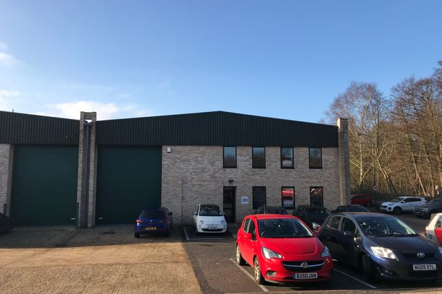 Thumbnail Industrial to let in Unit 2H Phase 3 Albany Park, Frimley, Camberley