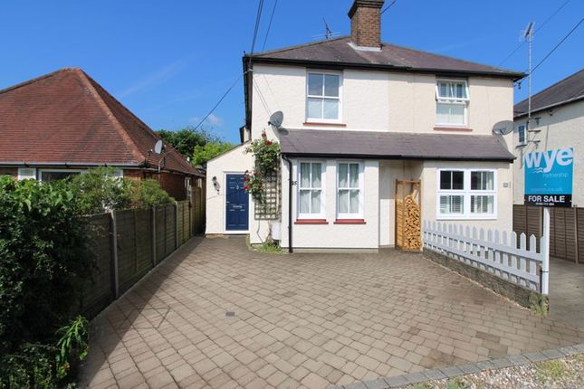 Thumbnail Semi-detached house for sale in Grove Road, Hazlemere, High Wycombe