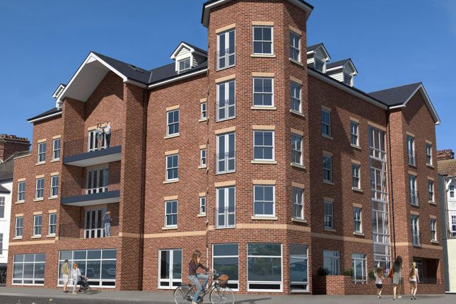 Thumbnail Flat to rent in Melrose House, Granville Road, Felixstowe, Suffolk