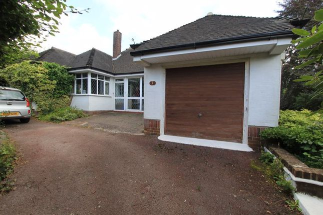 Thumbnail Detached bungalow for sale in Leicester Close, Clayton, Newcastle-Under-Lyme