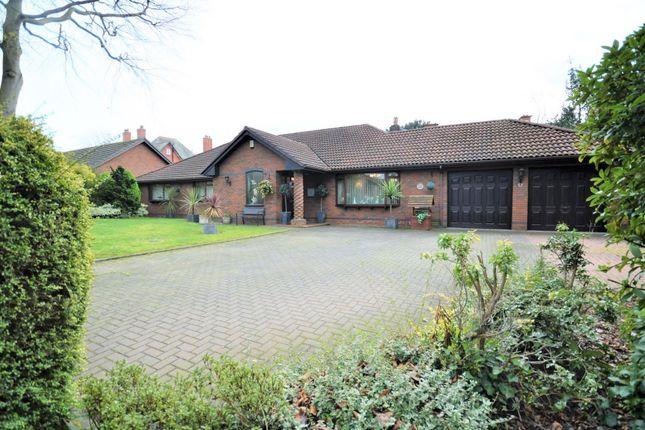 Thumbnail Detached bungalow for sale in Walton Road, Stockton Heath, Warrington