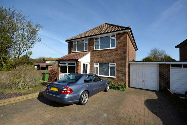 Thumbnail Link-detached house for sale in Rangemore Drive, Eastbourne