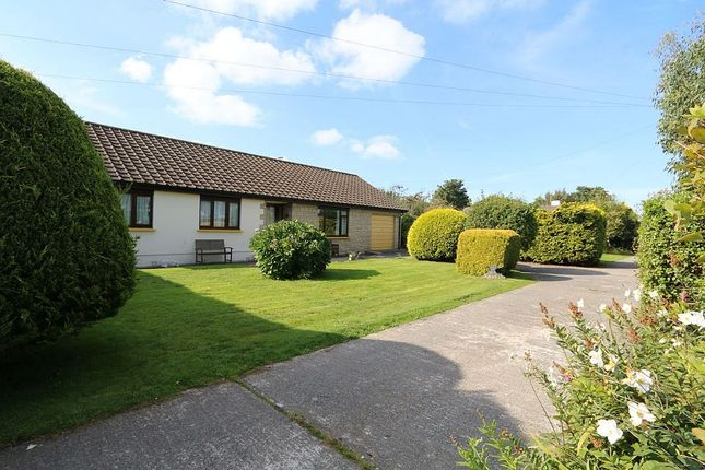 Thumbnail Detached bungalow for sale in Cross Inn, Llandysul, Ceredigion