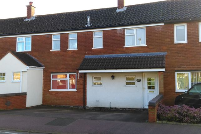 Thumbnail Terraced house to rent in Wissage Lane, Lichfield