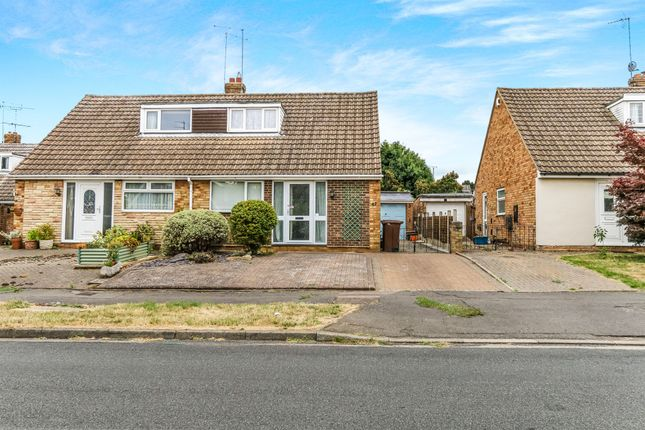 Thumbnail Semi-detached bungalow for sale in Falcutt Way, Kingsthorpe, Northampton