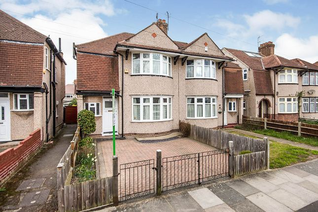 Thumbnail Semi-detached house for sale in Runnymede Road, Whitton, Twickenham